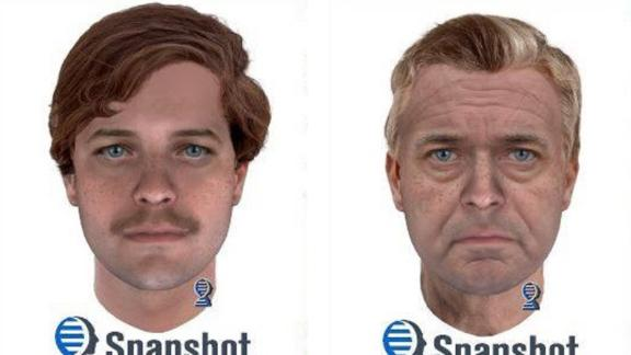 Using new advances in DNA technology, Marinette County Sheriff's Office released a composite image of the suspect in a 1976 double homicide at age 25 and at age 65.