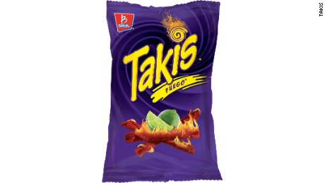 """Takis are safe to eat, but should be enjoyed in moderation,"" the snackmaker says."