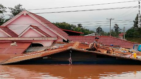 Thousands Affected After Laos Dam Collapse