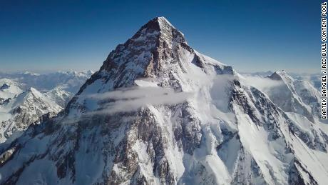 K2 is the second highest mountain in the world, after Mount Everest.