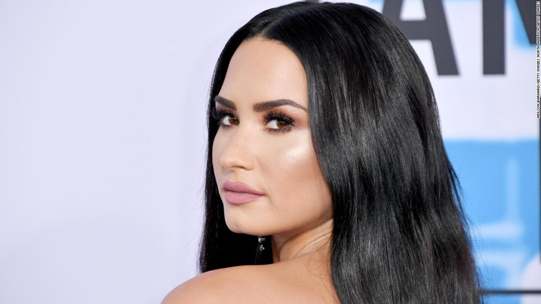 Demi Lovato has a few words for President Trump