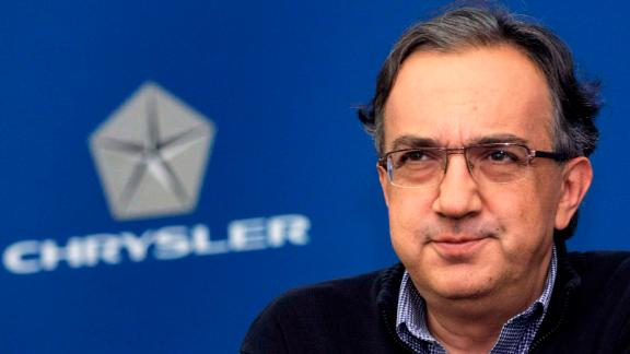 AUBURN HILLS, MI - OCTOBER 1: Chrysler CEO Sergio Marchionne attends a press conference at Chrysler headquarters October 1, 2009 in Auburn Hills, Michigan. Also attending was Claudio Scajola, the Italian Minister of Economic Development. (Photo by Bill Pugliano/Getty Images)