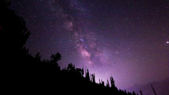 Manali, Himachal Pradesh, India: A country of incredible sights during the day, India also has some dazzling sights at night. This view of the Milky Way was taken in the north Indian state of Himachal Pradesh.