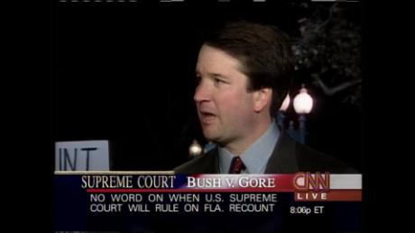 Here's what Brett Kavanaugh said on CNN about Bush v. Gore in 2000