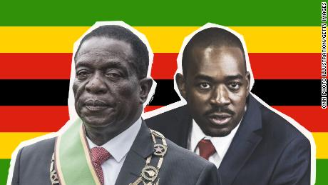 Zimbabweans vote in first Mugabe-free election