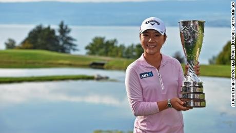 Ko became the youngest winner of a women's major at the 2015 Evian Championship aged 18 years and 142 days.