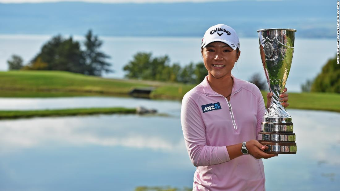The teenager rewrote the golfing record books once again not long after, becoming the youngest winner of a women's major at the 2015 Evian Championship aged 18 years and 142 days.