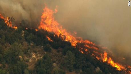The Cranston Fire has 7,500 acres in the San Bernardino National Forest since Wednesday