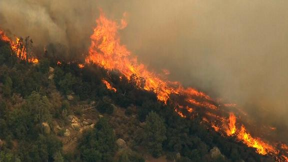 The Cranston Fire has scorched 11,500 acres in the San Bernardino National Forest since Wednesday.