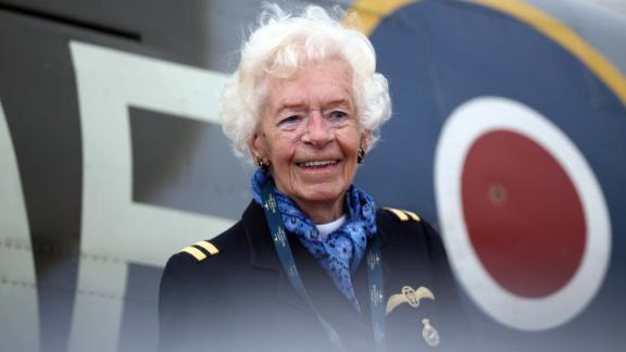 Mary Ellis was a pilot for the Air Transport Auxiliary in World War II.
