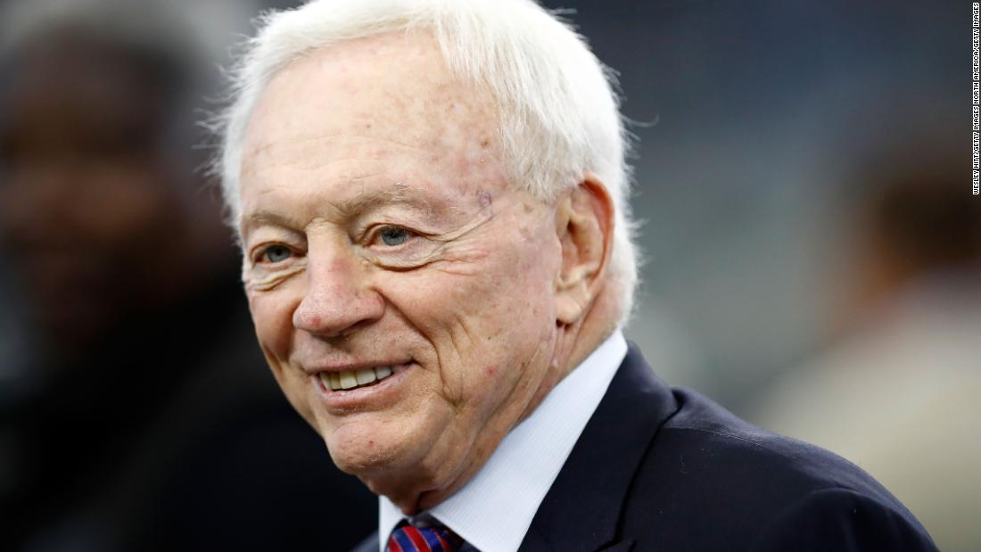 aa84cb1fa603f6 Dallas Cowboys owner Jerry Jones says Donald Trump