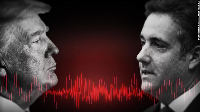 Audio expert analyzes secret Trump-Cohen tape