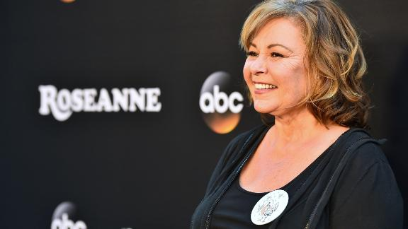BURBANK, CA - MARCH 23:  Roseanne Barr attends the premiere of ABC