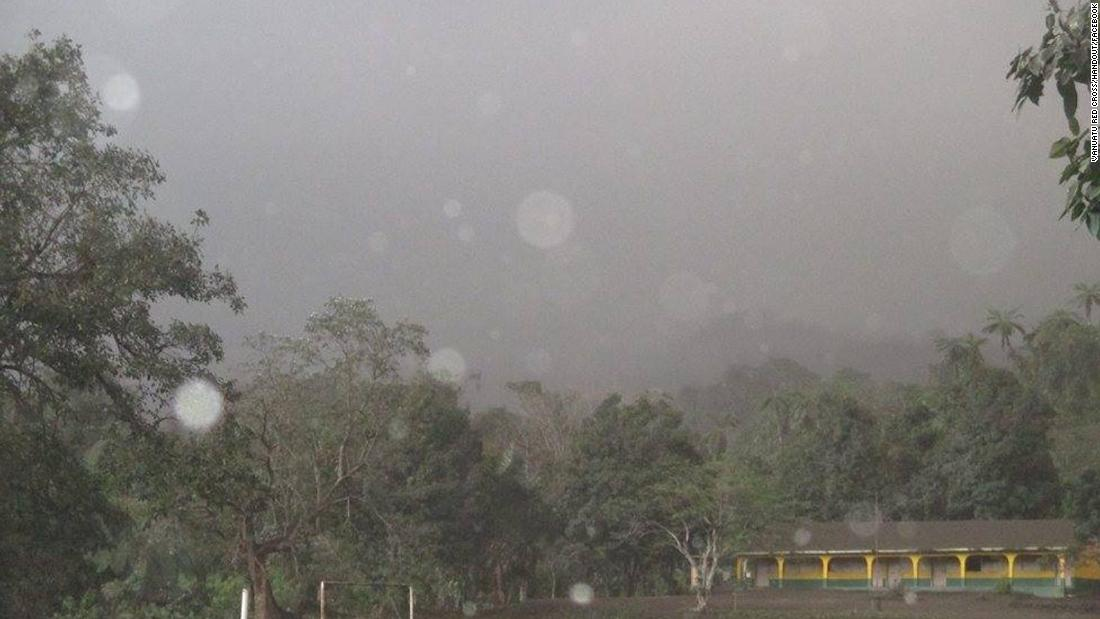 State of emergency in Vanuatu as volcanic ash blacks out sun