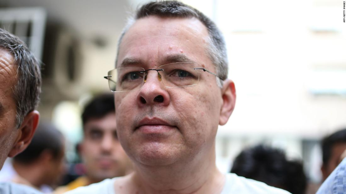 Turkey rejects US pastor Brunson's release