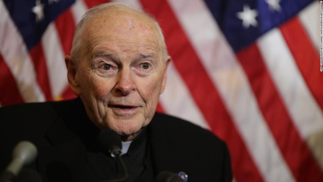 Vatican defrocks ex-US cardinal McCarrick over sexual abuse allegations