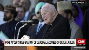 US Cardinal resigns over abuse allegations