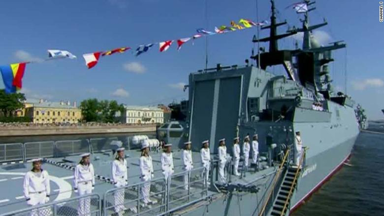 Russia shows off its military might in parade