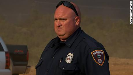 Fire inspector Jeremy Stoke died while helping with evacuations Thursday, Redding firefighters union said.