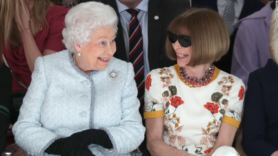 Why the Queen made her front row debut