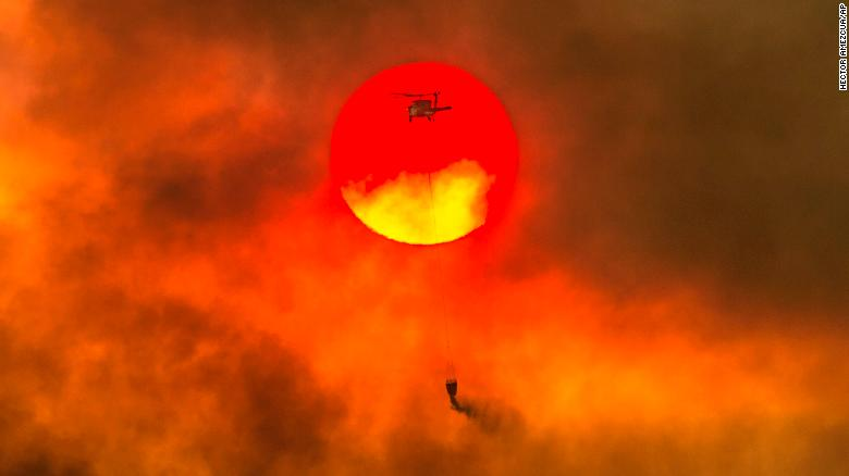 california fires blazes have burned an area the size of los angeles