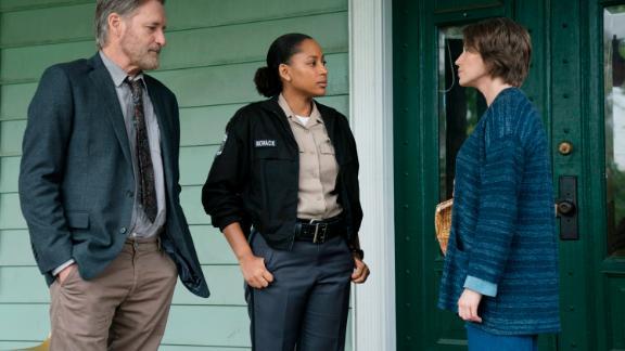Bill Pullman as Detective Lt. Harry Ambrose, Natalie Paul as Heather, Carrie Coon as Vera Walker in