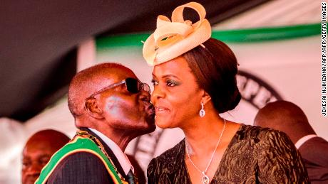 Grace Mugabe is said to have had political ambitions before her husband Robert was deposed as Zimbabwean leader.