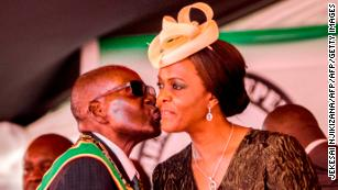 'I looked at her lustfully, then kissed her,' Mugabe on wooing his wife
