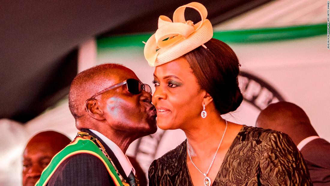 Robert Mugabe shares intimate details of how he wooed his wife
