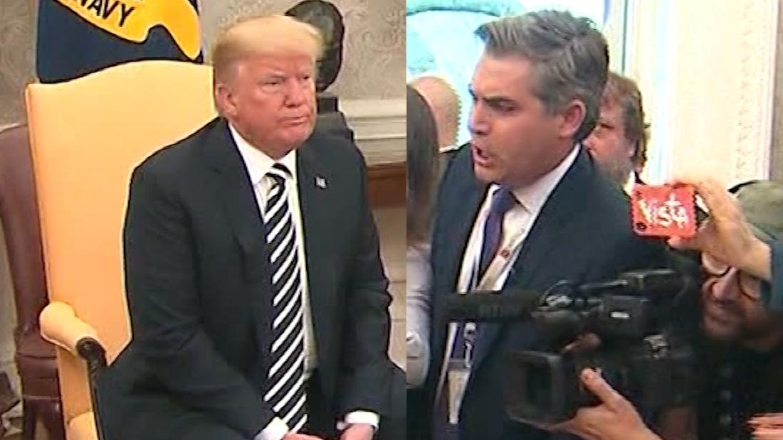 White House Aide Yells At Cnn S Jim Acosta Cnn Video