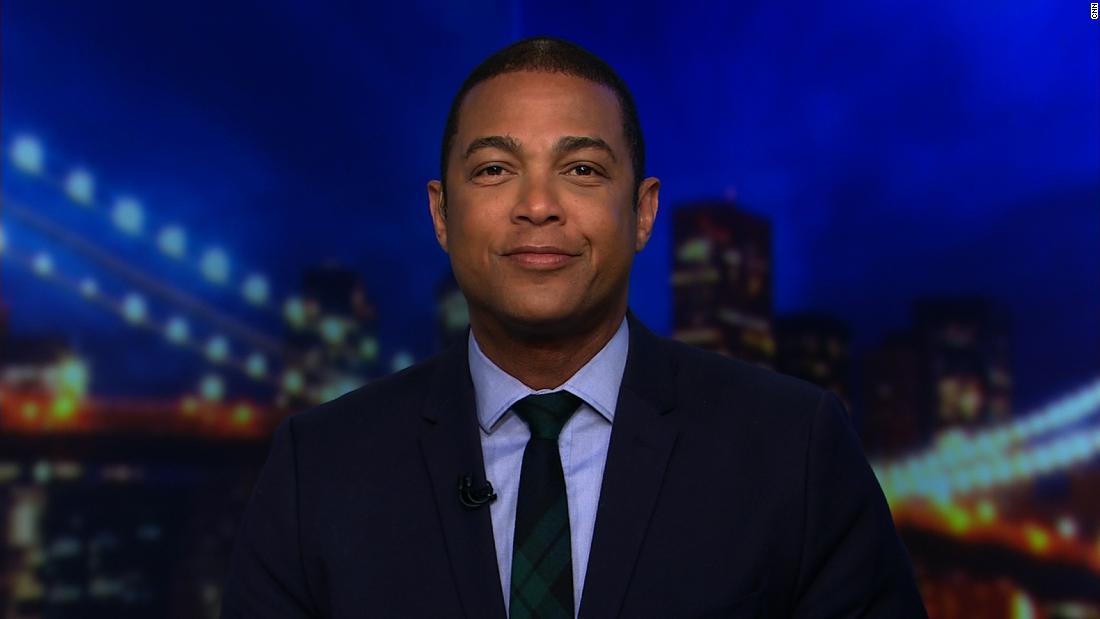 Don Lemon fordert BS auf die Kritiker der race-Berichterstattung