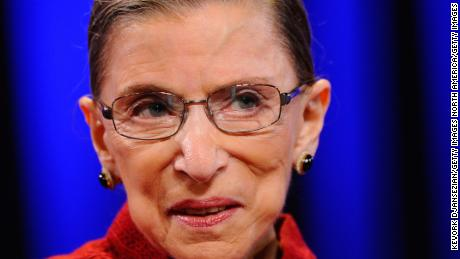 Ruth Bader Ginsburg says she'll stay on the Supreme Court for 5 more years. That's terrific news