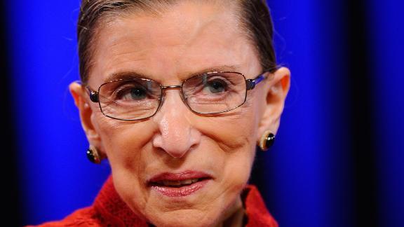 LONG BEACH, CA - OCTOBER 26:  Justice Ruth Bader Ginsburg attends California first lady Maria Shriver