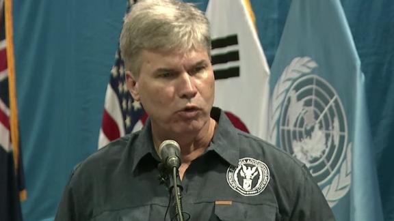 John Byrd, DPAA forensic specialist