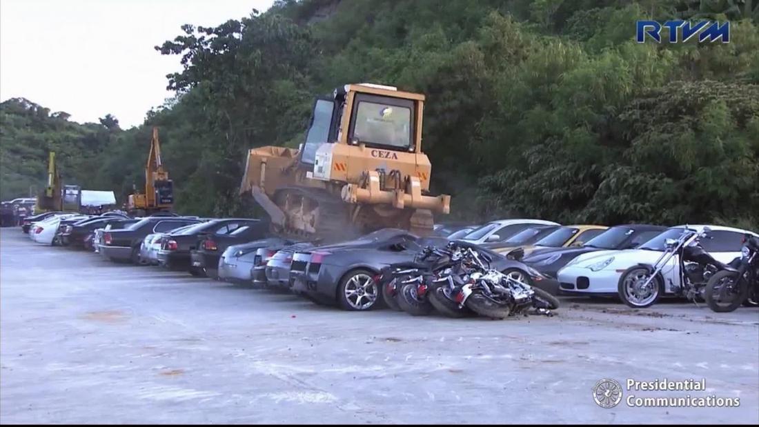 Autos De Lujo Son Destruidos En Filipinas Cnn Video