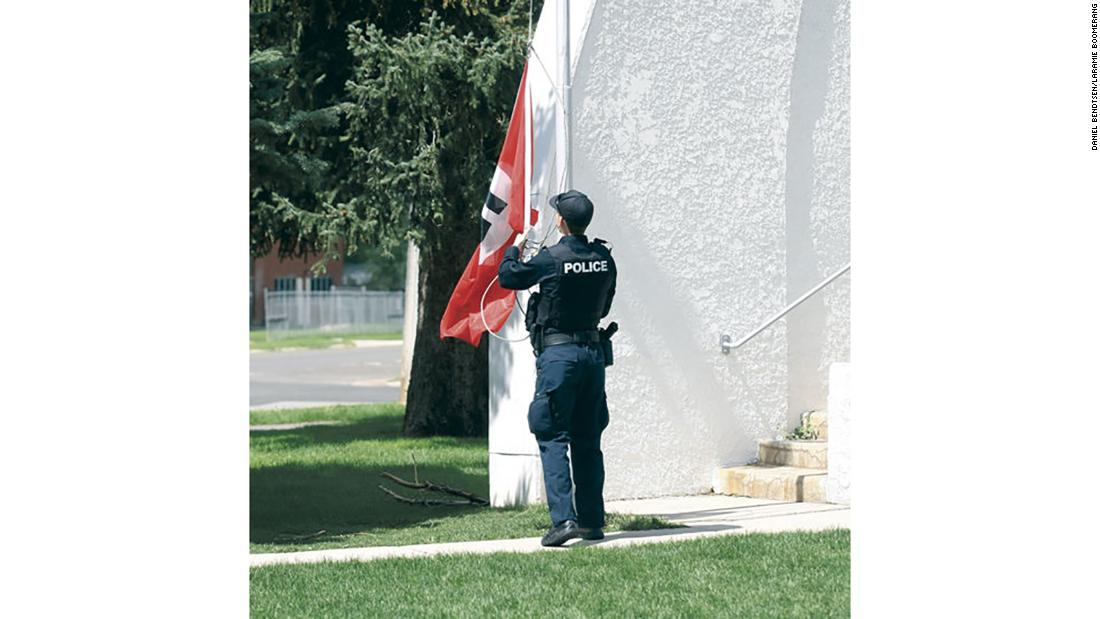 01 >> A Nazi flag was found flying at a public park in Wyoming - CNN