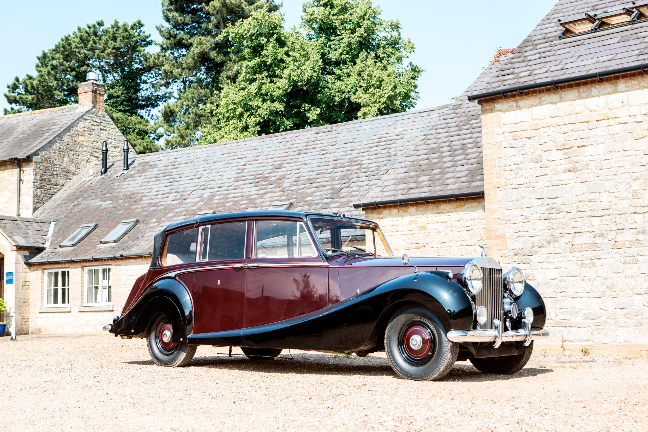 the queen's vintage rolls-royce is up for sale - cnn style