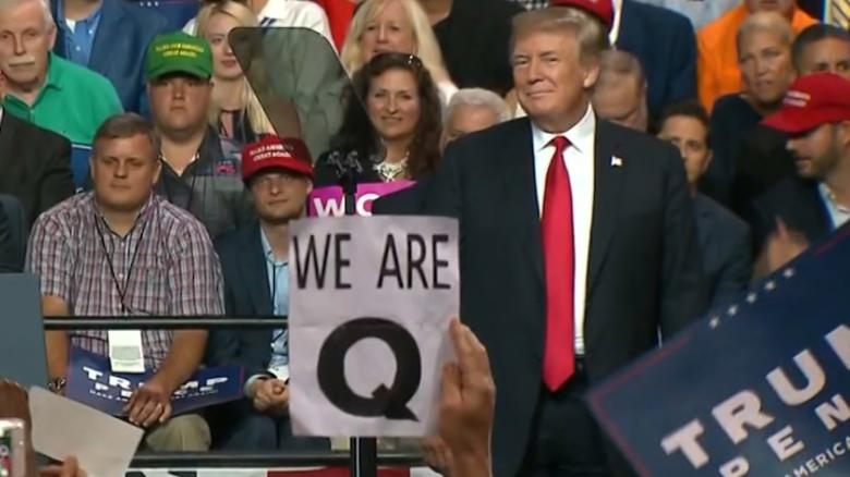 Image result for TRUMP Q ANON