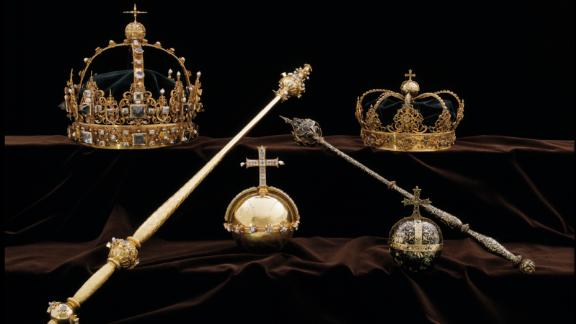The collection of royal jewels, including the stolen items