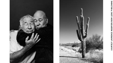 "The visual similarity between the men's heads and the arms of the cactus, as well as the absurd thought of hugging a cactus, might bring humor to a comparison of this pair, Aëgerter said. On a deeper level, though, the pictures might imply a conversation about friendship and intimacy. ""Friendship, even the deepest friendship, is something so challenging, because you can't love without feeling irritation and frustration and displeasure,"" Aëgerter said. ""There is also for me this kind of deep wish that it would be possible to be always be in this empathetic cuddle, in this fusional intricate experience of the other, of the sharing, of the loving and caring, and that there will never come that level of irritation of problem or things that come in between, that would be what the cactus made me think of."""