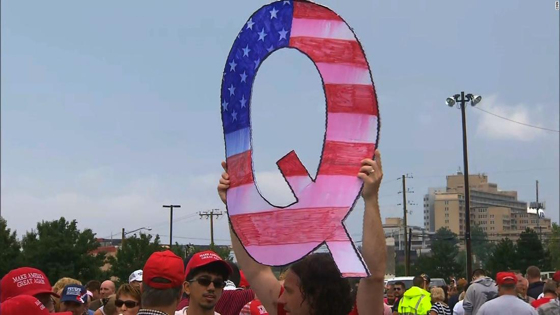 Born on the dark fringes of the internet, QAnon is now infiltrating mainstream American life and politics