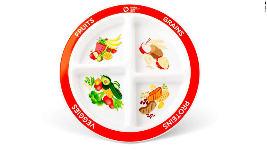 Image Of Healthy Food Plate