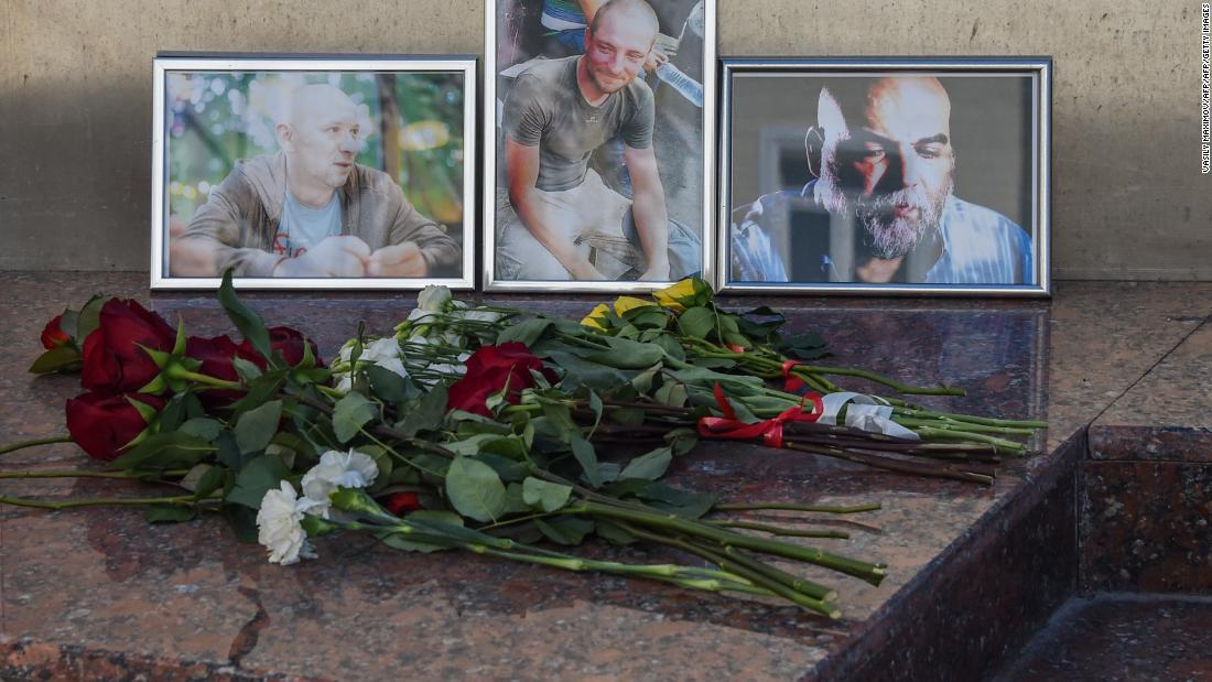 The murder of three Russian journalists in Africa is still shrouded in mystery