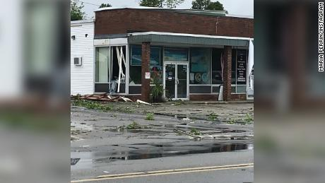 Worcester County, where Webster is located, has seen three tornadoes in two weeks.