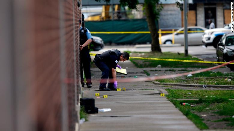 12 killed in deadly Chicago weekend shootings