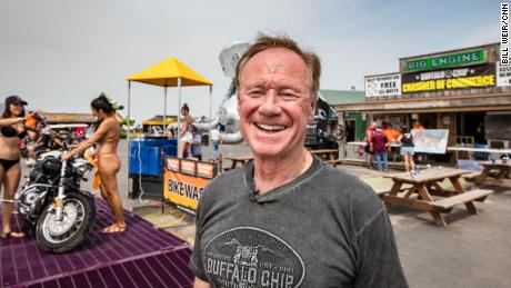 Rod Woodruff, owner of the Buffalo Chip in Sturgis, says most of the attendees are well off.