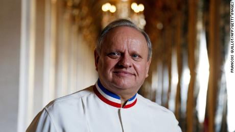 Joël Robuchon was one of the world's most famous chefs.