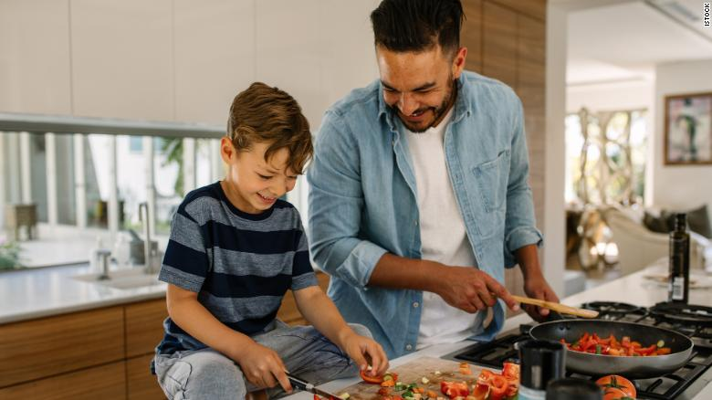 If you want your kid to eat healthier, let them watch certain cooking shows