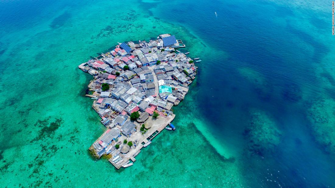 This tiny island is running out of space