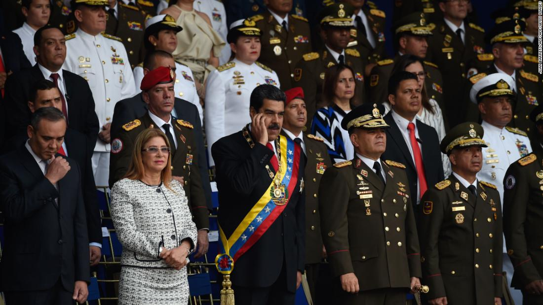 Maduro claims to have proof linking Colombia to alleged assassination attempt